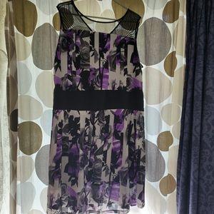 Jessica Sleeveless Floral Dress